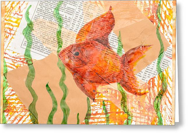 Inky Fish Greeting Card