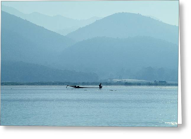 Inle Lake Greeting Card