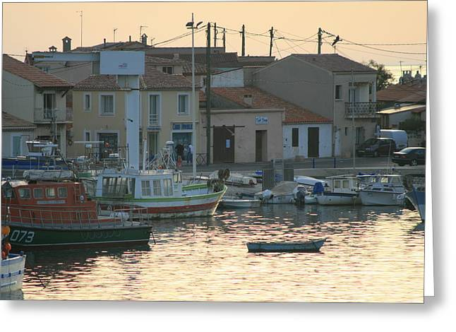 Inlet Carol South France Greeting Card