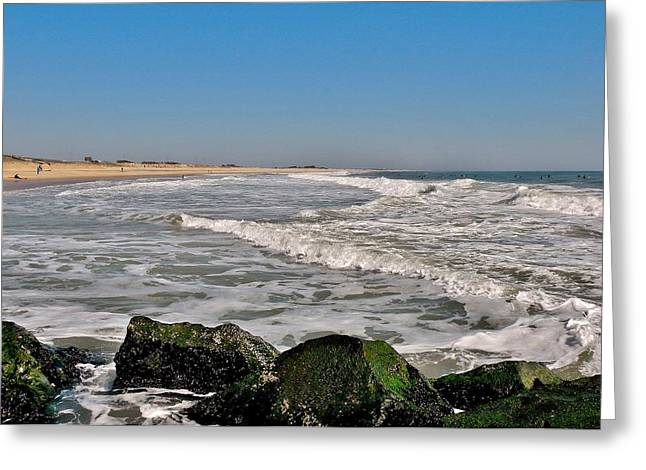 A Summer Day At The Inlet - Delaware Greeting Card
