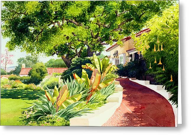 Inn At Rancho Santa Fe Greeting Card
