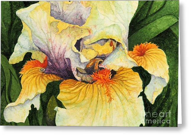 Greeting Card featuring the painting Inner Beauty by Barbara Jewell