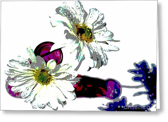 Inner Soul Greeting Card by Krissy Katsimbras
