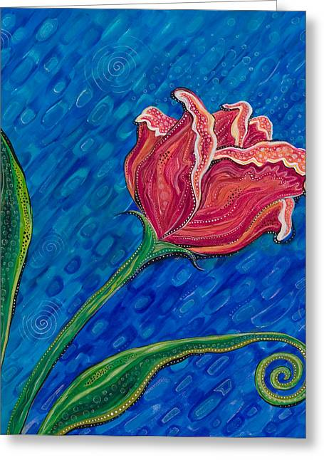 Inner Strength Greeting Card by Tanielle Childers