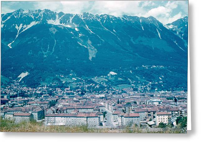 Innsbruck Austria 6 1962 Greeting Card by Cumberland Warden