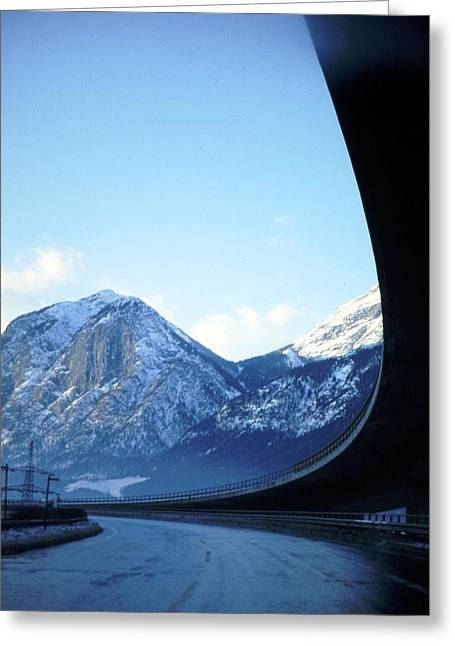 Innsbruck's Mountains Greeting Card