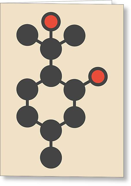 Insect Repellent Molecule Greeting Card by Molekuul