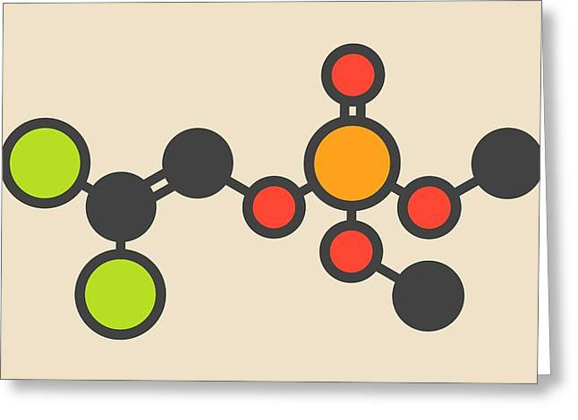 Insecticide Molecule Greeting Card