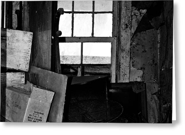Inside Abandonment 2 Greeting Card