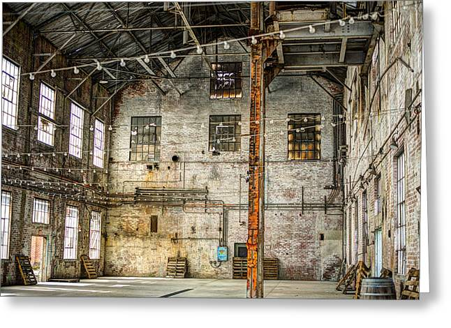 Inside The Old Sugar Mill Greeting Card by Diego Re