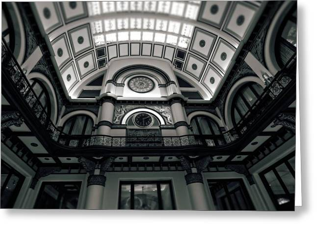 Inside Union Station Greeting Card by Dan Sproul