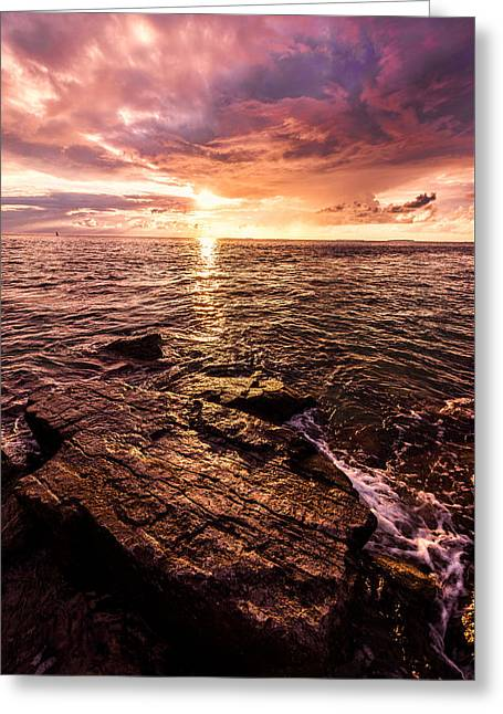Inspiration Key Greeting Card by Chad Dutson