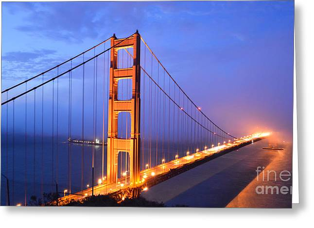 The Golden Gate Bridge Greeting Card