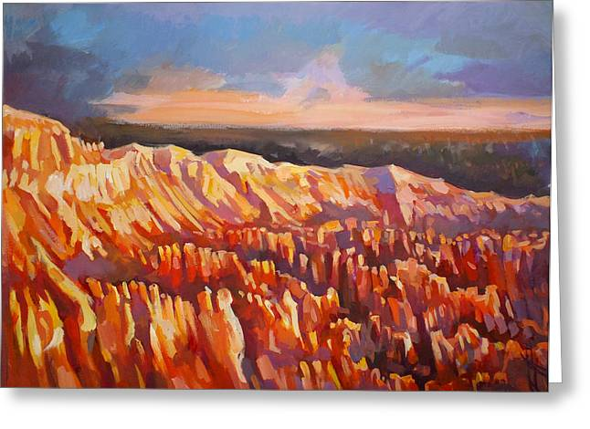 Inspiration Point - Bryce Canyon Greeting Card by Filip Mihail