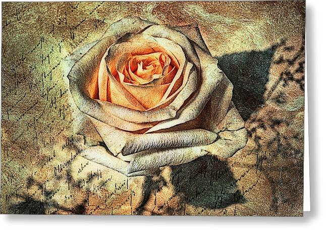 Instead Of A Kiss Greeting Card by Joachim G Pinkawa