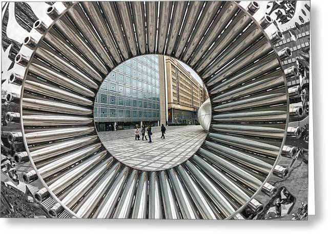 Institut Du Monde Arabe - Paris Greeting Card