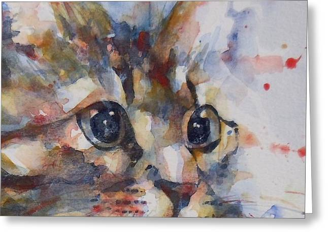 Intent Greeting Card by Paul Lovering