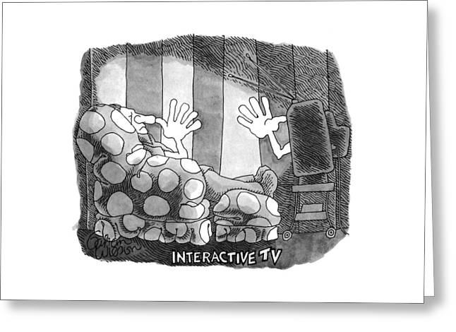 Interactive Tv Greeting Card