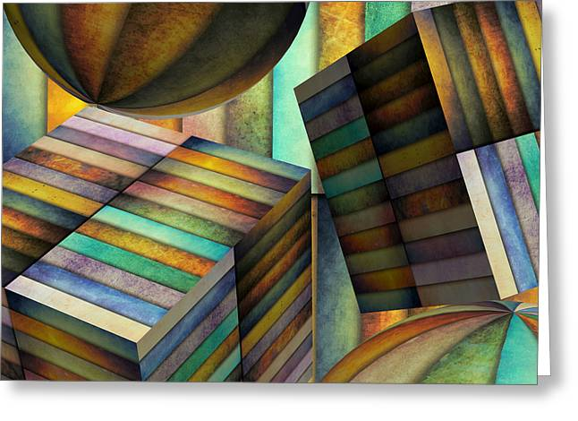 Interior Design 2 Greeting Card by Angelina Vick