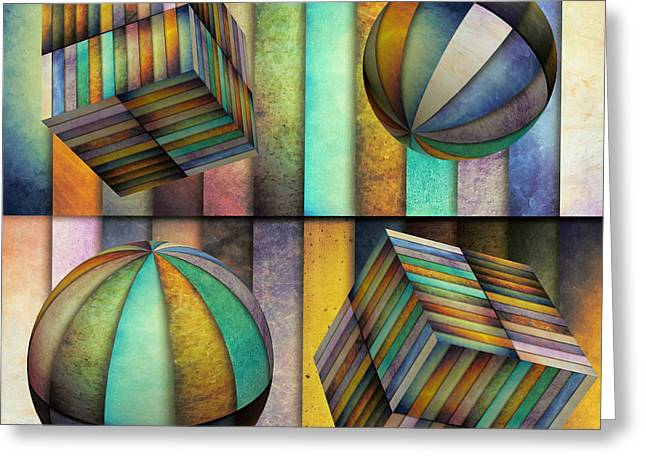 Interior Design 3 Greeting Card by Angelina Vick