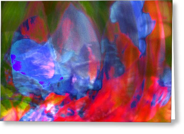 Greeting Card featuring the digital art Interior by Richard Thomas