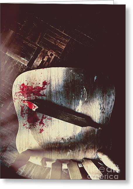 Internal Interrogation Greeting Card by Jorgo Photography - Wall Art Gallery