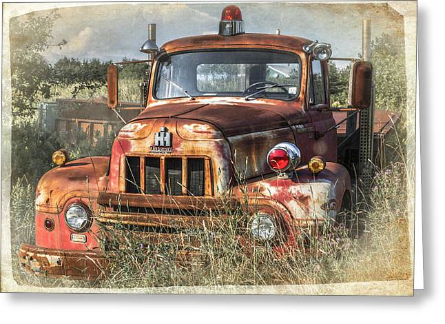 International Harvester Greeting Card by Tracy Munson