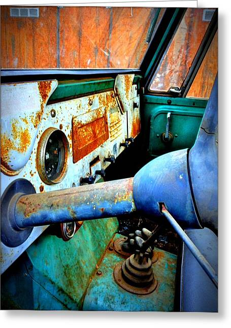 International Scout Interior Greeting Card