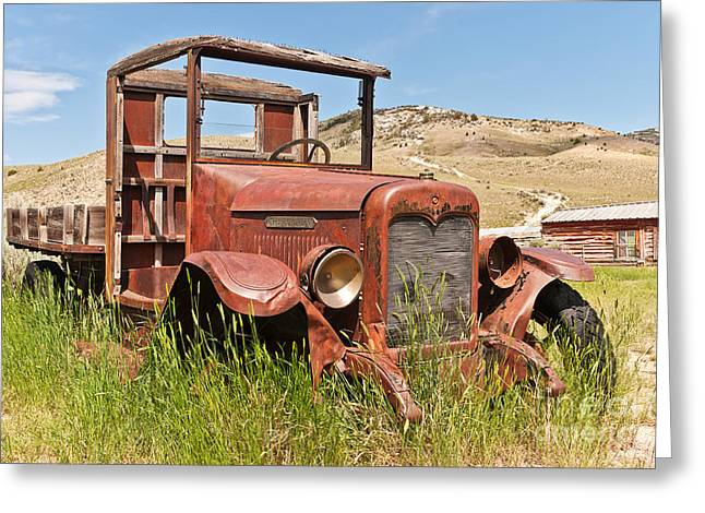 Greeting Card featuring the photograph International Truck by Sue Smith