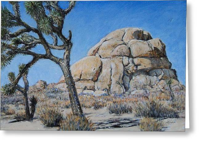 Intersection Rock Greeting Card by Sandra Lytch