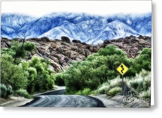 Greeting Card featuring the photograph Into The Alabamas by Brad Allen Fine Art