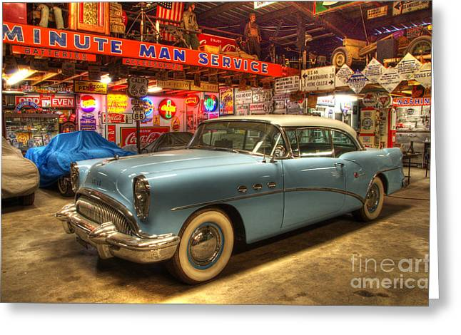 Into The Dreamtime Route 66 Greeting Card by Bob Christopher
