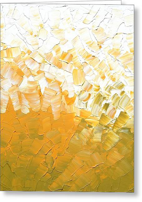 Into The Light Greeting Card by Linda Bailey