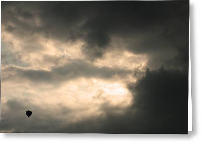 Greeting Card featuring the photograph Into The Storm by Debi Dmytryshyn