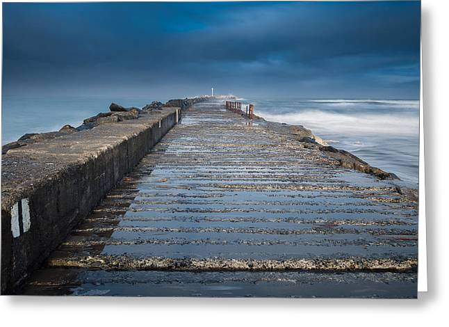 Into The Storm Greeting Card by Greg Nyquist