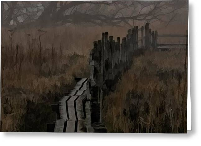 Into The Unknown  By Leif Sohlman Greeting Card