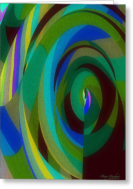Into The Void Greeting Card by Mary Machare