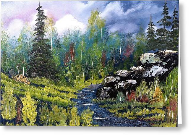Into The Wilderness Greeting Card by Roy Gould