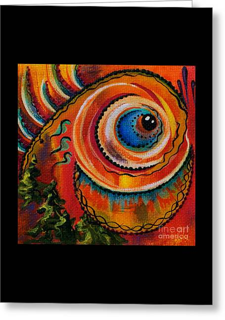 Intuitive Spirit Eye Greeting Card