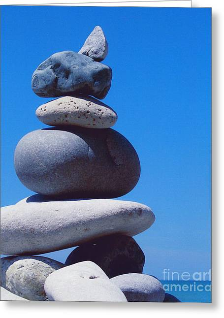 Inukshuk 1 By Jammer Greeting Card
