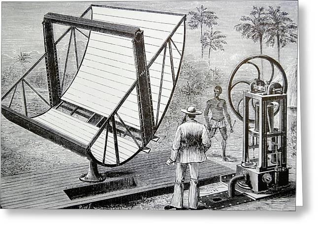 Inventor John Ericsson's Machine Greeting Card by Universal History Archive/uig