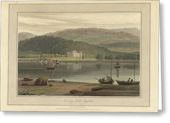Inverary Castle In Argyllshire Greeting Card