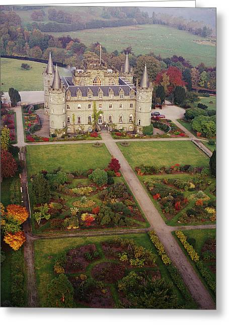 Inverary Castle Greeting Card by Skyscan/science Photo Library