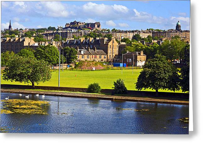 Inverleith Park Edinburgh Greeting Card by Craig B
