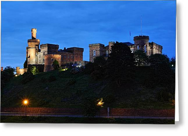 Inverness At Night Greeting Card