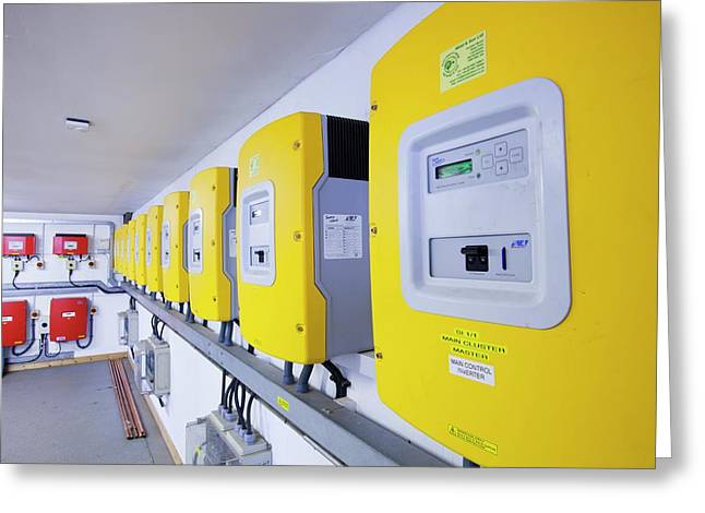 Inverters For Renewable Energy Systems Greeting Card