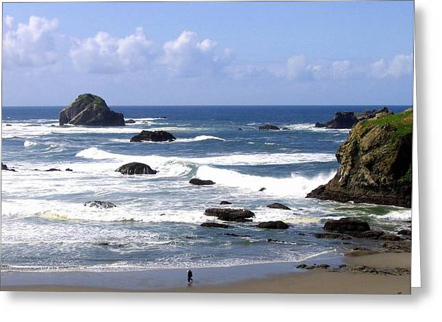Invigorating Sea Air Greeting Card