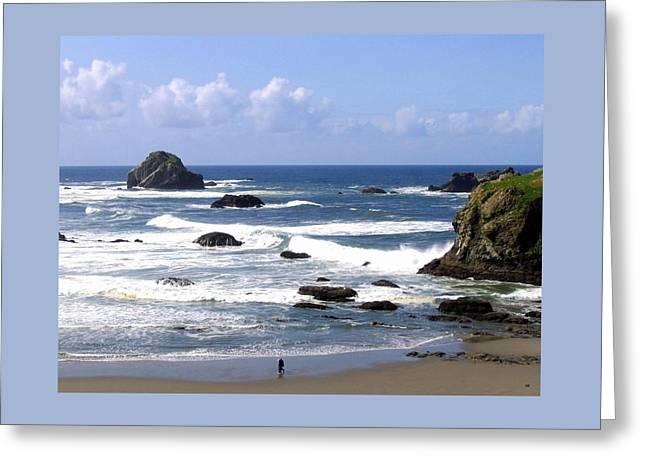 Invigorating Sea Air Greeting Card