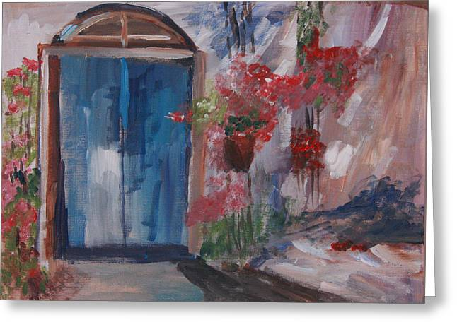 Inviting Doorway Greeting Card