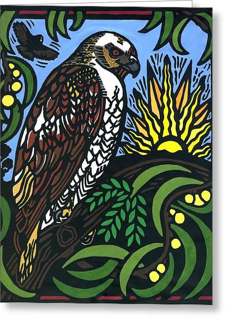 Io Hualalai Greeting Card by Lisa Greig